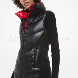NWT Michael Kors Quilted Nylon Vest